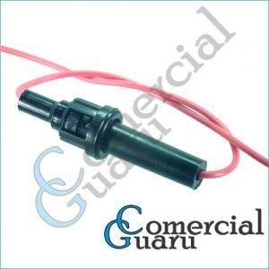Chicote porta fusível engate rápido sem fio para fusível de vidro