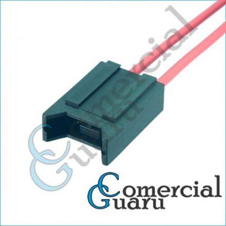 Chicote porta fusível lamina encaixe para fusível lamina médio